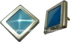 11.5*11.5mm square pearl snap button with 333#
