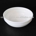 Super white porcelain serving dish