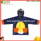 PU mac children rainwear