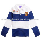 children t shirt 100% cotton polo