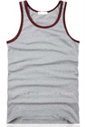 Tight plain mens wholesale racer back tank tops