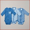 Long Sleeve Baby Boys Soft Cotton Printed Romper