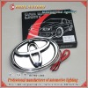 car logo light for toyota brand