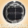 Round LED Solar Dock Light with Solar Panel