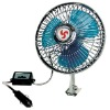6 Inch Oscillating Car Fan