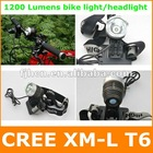 1200 Lumen 10W CREE XM-L T6 LED Headlight / Headlamp / Bike Light