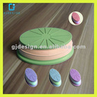 Best Selling Mini Reversible Silicone Cup Pad