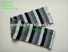 striped jacquard knitting pattern scarf