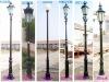 cast iron/aluminum lighting poles