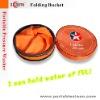 Wash kits Folding bucket