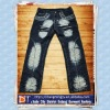 Fashion Straight Men's Jeans Classic Long Pants