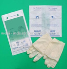 sterile Latex Surgical gloves for disposable use