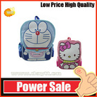 OEM--cartoon nylon Hello Kitty school backpack