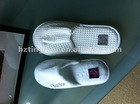 White hotol/tavern slippers