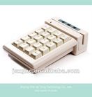 keyboard with magnetic card reader