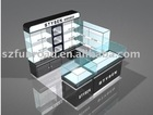 cosmetic display cabinet, kiosk