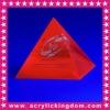 Pyramid shaped Sign Block