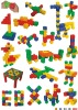Plastic kids interesting intelligence toys (KT-PT1039)