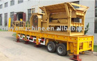 Tire Type Mobile Crushing & Screening plant