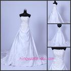 2012 new hotsale beading wedding dress for sale hwd100