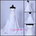 2012 new hotsale beading wedding dress for sale hwd100