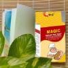 yellow vaccum pack dry yeast