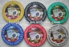 10.0g Professional Sticker Poker Chips