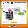 2 port- USB mini car charger 3A