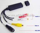 USB2.0 USB Video Capture EasyCAP Easy cap For Mac XP Vista 7 1 channel