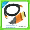 Dual Color Molding Type A HDMI Cable