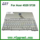 100% Brand new original for acer 4520 5720 laptop keyboard