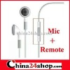 Earphone for iphone4 with remote and mic Best !!