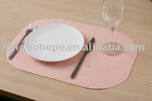 Self-adhesive non-woven placemat