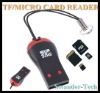 Hot USB 2.0 Micro SD M2 Reader TF card Reader Memory card Mini sd card Adapter