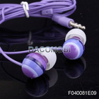 Cute Candy color 3.5mm Universal Stereo In-Ear earphone