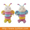 Hot selling Soft Baby Rattle Butterfly Toy