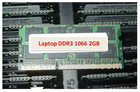 Wholesale Laptop RAM Memory DDR3 1066 2GB PC8500 1333MHz SO-DIMM