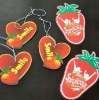 Promotional gifts car Accessories Strawberry shape air freshener