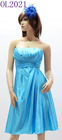 2012 top selling evening dress for fashion lady lake blue