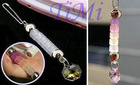 Color Changing Cane Cell Phone MP3MP4 Charm Strap Chain