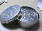 Simple design silver round tin cup mat 6pcs set