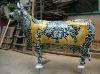 resin cow sculpture animal fiberglass sculpture