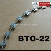 ISO 9001:2008China Razor Barbed Wire BTO-22 Manufacturer