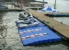 plastic pontoon, floating dock, jet ski dock