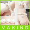 Fashion Jewelry Big White Pearl Ball Bracelet