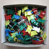 30mm Assorted Color Plastic Flag Push Pin