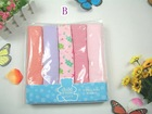 FREE SHIPING 5-PACK BABY BLANKET . 5 COLOR IN A PACK ..BEAUTIFUL