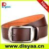 Mens jeans leather belt