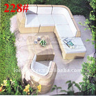 Rattan Furniture Outdoor Of Synthetic Rattan Outdoor Furniture Sofa Set (221#)