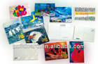 PET christmas card 3d greeting card postcard
